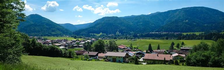 Chiemgau in summer