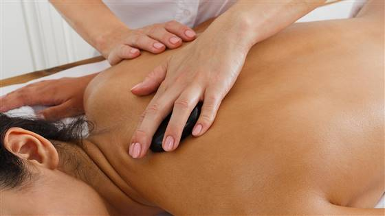 Spa massage for women